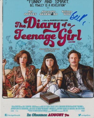 Bel Powley/ Alexander Skarsgard Signed Diary Of A Teenage Girl 10x8 Photo AFTAL