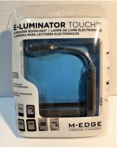 M-EDGE E-Reading E-Luminator Touch E-Reader Booklight Sealed NEW