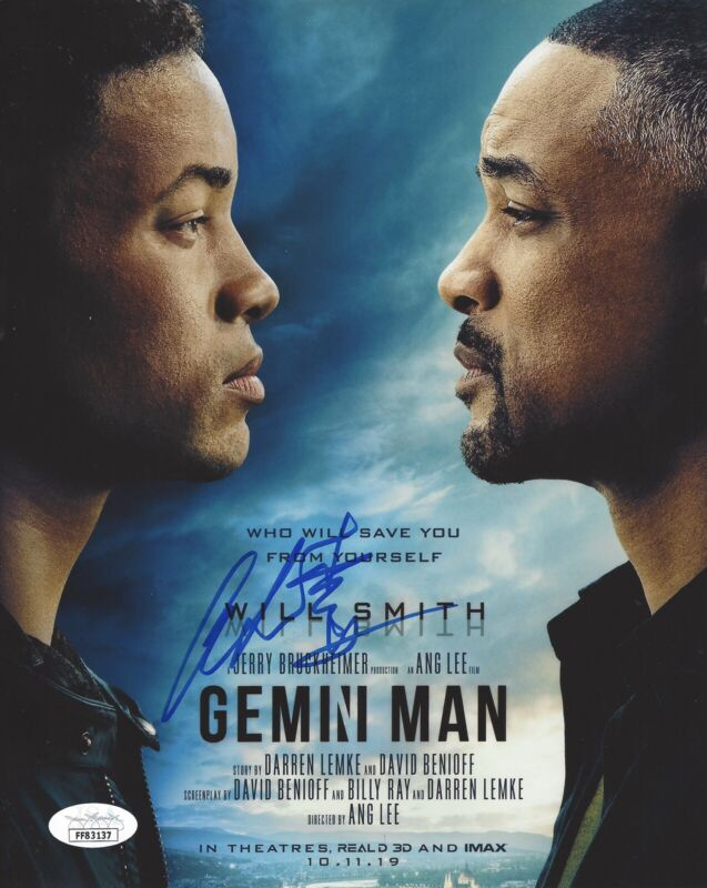 DIRECTOR ANG LEE SIGNED AUTOGRAPHED 8x10 PHOTO GEMINI MAN JSA COA +PROOF #4