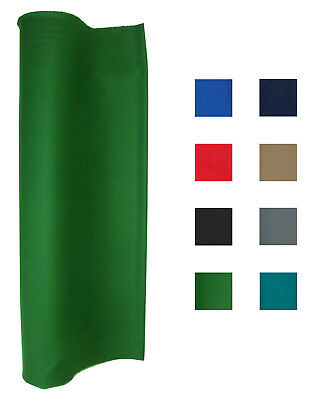 21 Oz Pool Table Felt - Billiard Cloth - Priced Per Foot Choose From  Black Billiard Table Felt Cloth