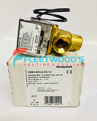 Hardy Honeywell V8044a1143u 3-way Threaded Zone Valve - 503.14