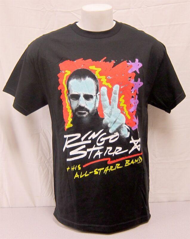 Ringo Starr Original Concert Shirt 2003 Tour Beatles Sheila E. John Waite UNWORN