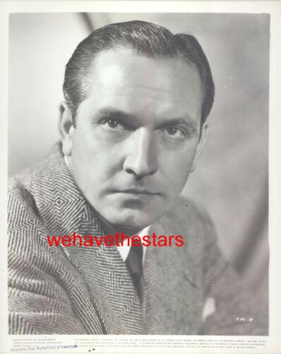 Vintage Fredric March HANDSOME 50s WB Publicity Portrait