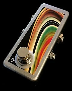 Saturnworks True Bypass Loop Looper Guitar Pedal Small, Handcrafted in the USA