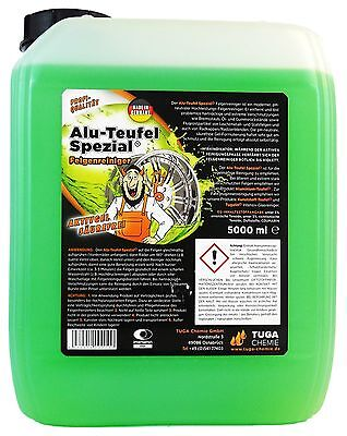 TUGA Aluminium-Teufel Alu-Teufel Felgenreiniger Felgenreinigung Gel Grün 5 kg