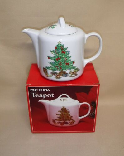 Holiday Hostess  ~ Teapot ~ NIB