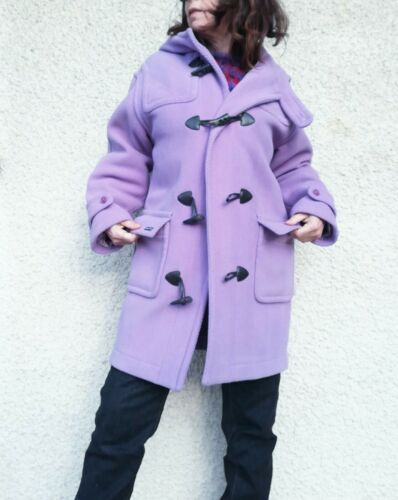 duffle coat saint james mauve pastel caban manteau femme 38 40