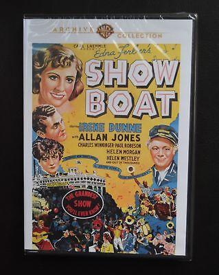 SHOW BOAT IRENE DUNNE ALLAN JONES  JAMES WHALE WARNER ARCHIVE NEW SEALED DVD OOP