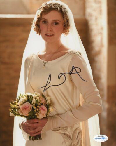 Laura Carmichael Downton Abbey Autographed Signed 8x10 Photo COA