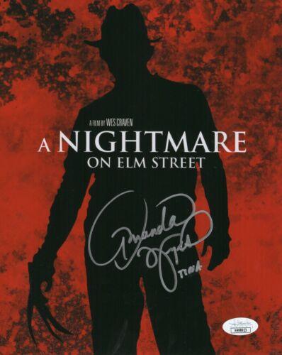 Amanda Wyss Autograph Signed 8x10 Photo - Nightmare on Elm Street (JSA COA)