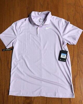 NIKE golf polo shirts Crew SZ:M Tiger woods