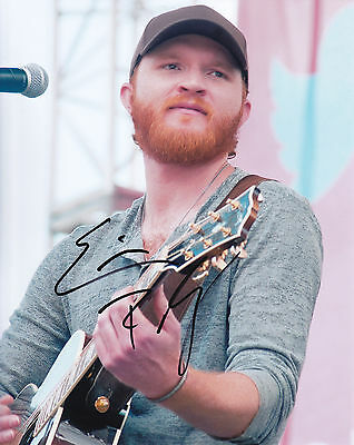 Eric Paslay autograph / auto / signed 8x10 photo COA