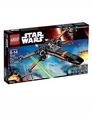 LEGO Star Wars 75102 Poe's X-Wing Fighter New Sealed Retired