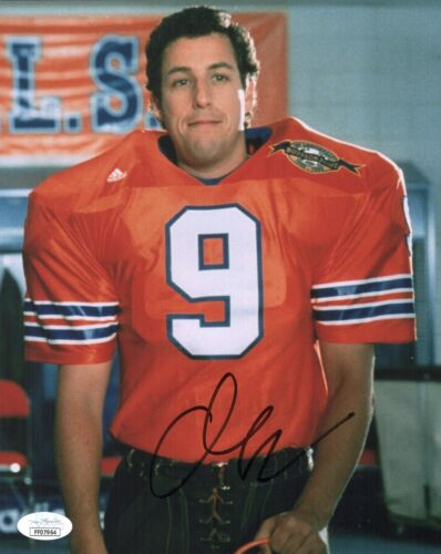 Adam Sandler Signed THE WATERBOY 8x10 Photo IN PERSON Autograph JSA COA