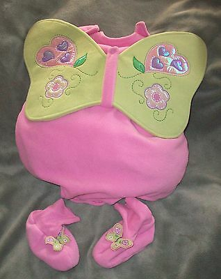 CHILDREN PLACE Baby Girl Pink Butterfly Costume 6 9 12 month Dress up Halloween