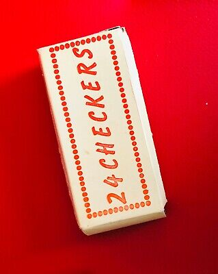 Vintage Coca Cola Checker Box - Just The Box