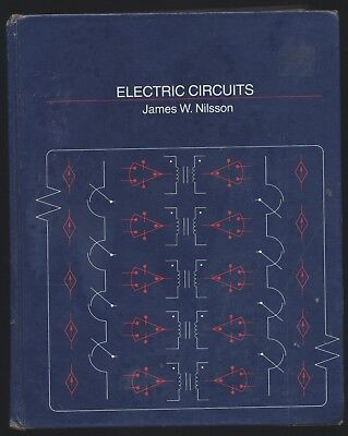 Electric Circuits James W Nilsson Addison-Wesley Electrical Engineering Textbook