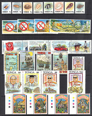 Tonga, Some Mint, NH Issues from 1993, Not Complete