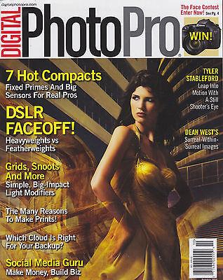 DIGITAL PHOTO PRO Oct 2013 Magazine Back Issue MAKE MONEY BUILD BIZ Social Media ()