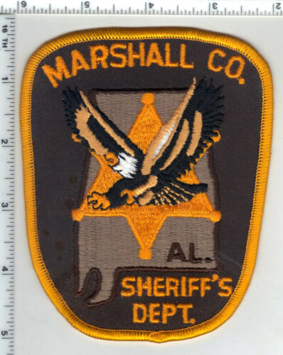 Marshall County Sheriff (Alabama) 3rd Issue Shoulder Patch