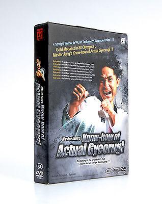 Knowhow of Actual Gyeorugi DVD Mater Jung Taekwondo Tactics TKD Real Games Match