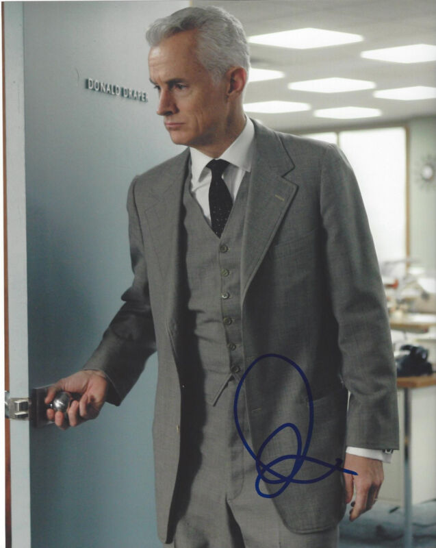 JOHN SLATTERY SIGNED AUTHENTIC 'MAD MEN' 8X10 PHOTO w/COA ACTOR TED 2 ANT MAN