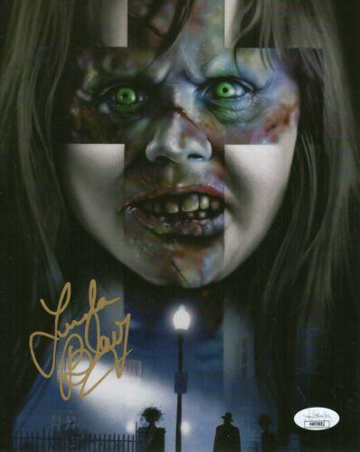 "Linda Blair Autograph Signed 8x10 Photo - The Exorcist ""Regan"" (JSA COA)"