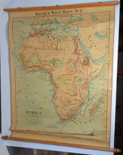 Antique AFRICA MAURY
