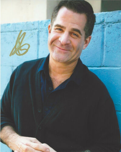 COMEDIAN TODD GLASS SIGNED AUTHENTIC STAND UP COMEDY 8X10 PHOTO C w/COA ACTOR