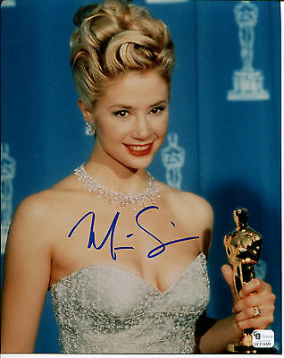 Mira Sorvino Signed 8X10 Photo Sexy Academy Award Winner Mighty Aphrodite Gai