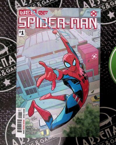 Web of Spider-Man #1A NM/NM+ 2021 Marvel Comics 1st Harley Keener Disneyland