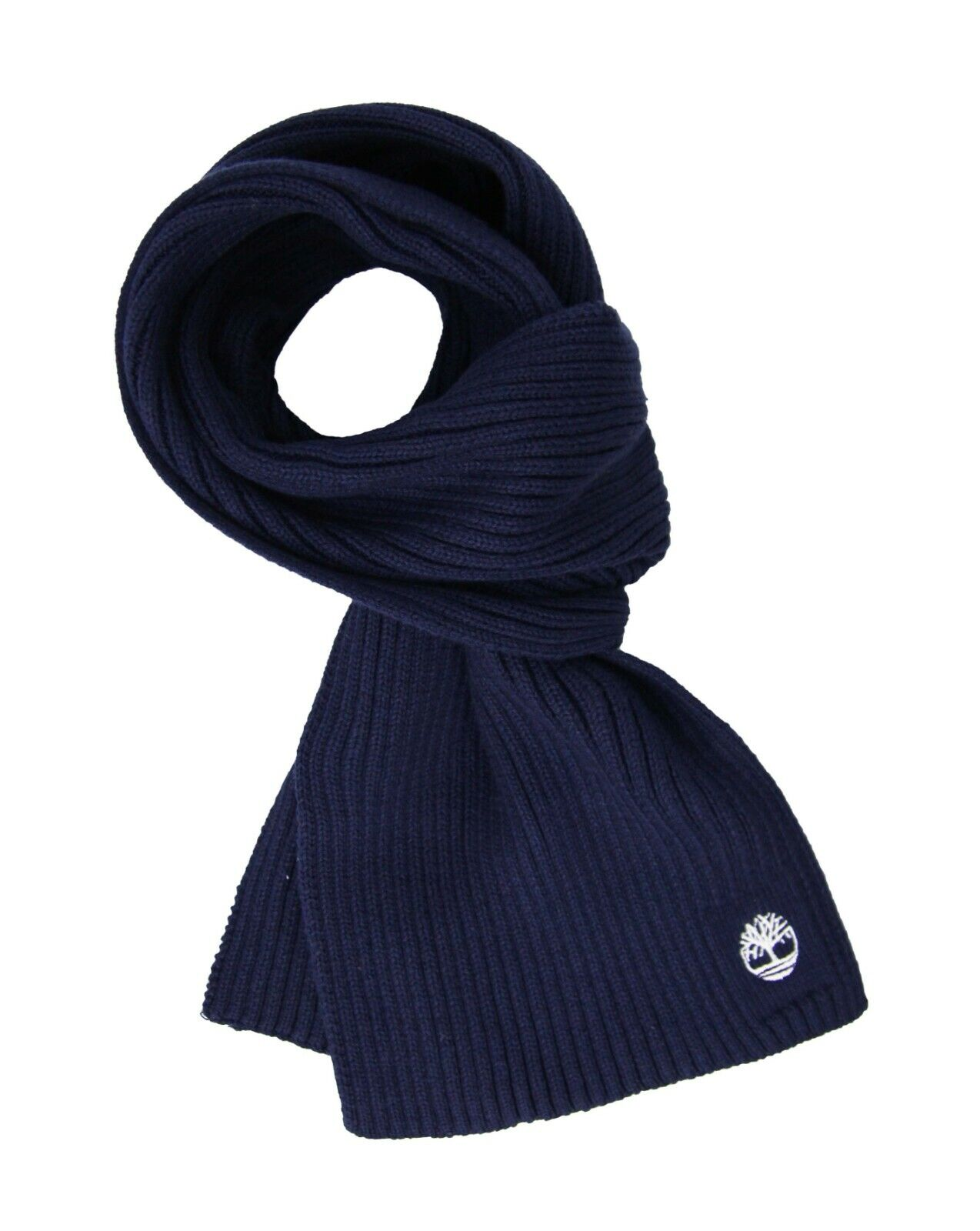 Timberland Basic Ribbed Scarf Navy Winter Youths Juniors Scarves T0288 410 A25A