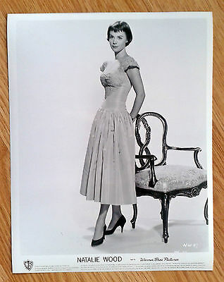 NATALIE WOOD rare vintage 1950s US 8x10 PIN UP FASHION publicity studio still 97