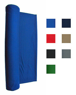 Blue 21 Oz Pool Table Felt  - Billiard Cloth - Choose Lengths of 1 - 6 Feet Billiard Table Felt Cloth