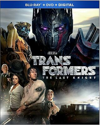 Transformers: The Last Knight (Blu-ray/DVD 2017) Additional Movies SHIP FREE