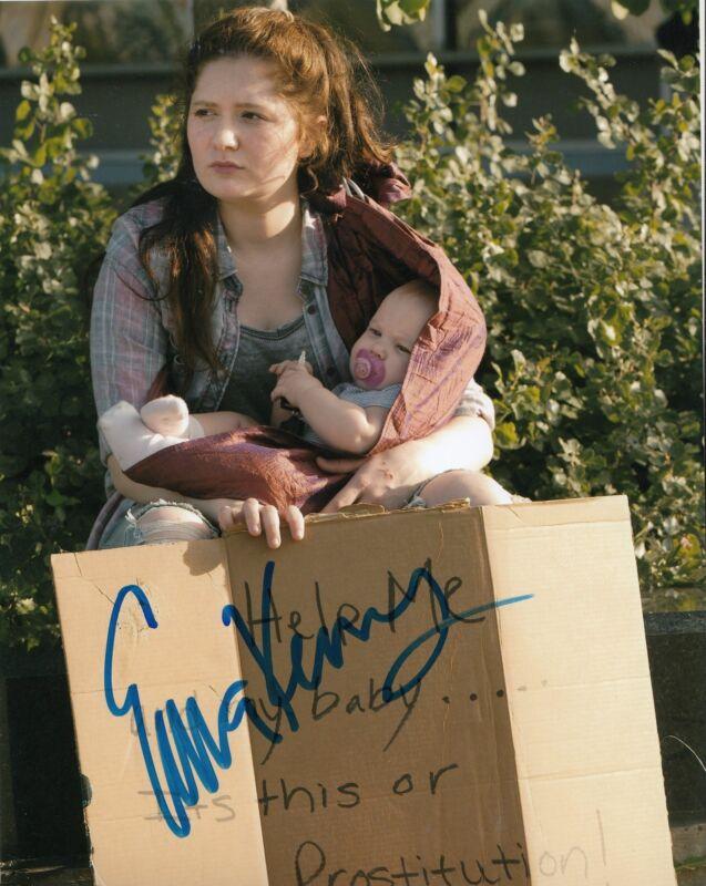 EMMA KENNEY signed *SHAMELESS* 8X10 photo DEBBIE DEBS GALAGHER (PROOF) W/COA #5