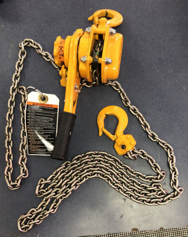 HARRINGTON L5LB008-10  .75 Ton Lever Hoist Chain - 10 FOOT PULL BRAND  NEW