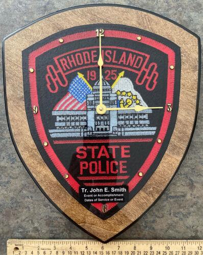 Rhode Island State Police Clock