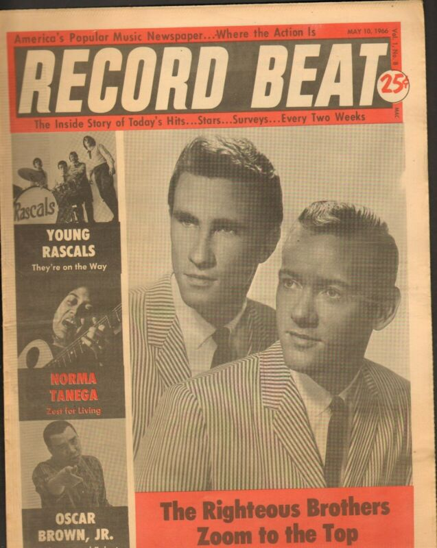 Record Beat Paper-May 10 1966 The Righteous Brothers-----4