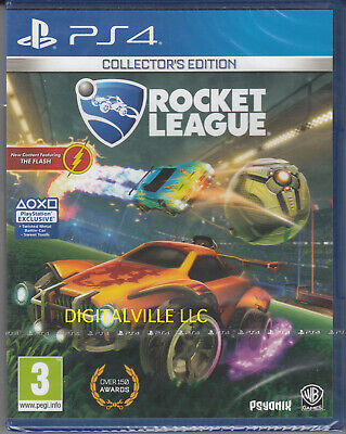 Rocket League Collectors Edition PS4 PlayStation 4 Brand New Factory Sealed