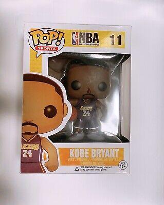 Funko Pop! Kobe Bryant #11 Purple Jersey #24 NBA Lakers