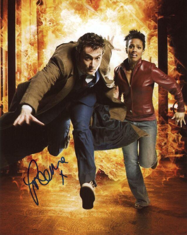"""Freema Agyeman """"Doctor Who"""" AUTOGRAPH Signed 8x10 Photo ACOA"""