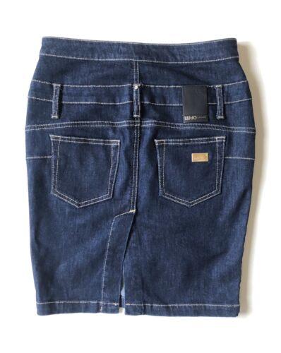 Jupe en jeans taille haute liu jo - taille 25
