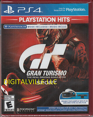 Gran Turismo Sport PS4 Sony PlayStation 4 VR Compatible Sealed Racing