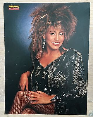 BRAVO POSTER Tina Turner - 80er Jahre - Tina Turner 80er Jahre