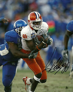 Details about AARON KELLY HAND SIGNED CLEMSON TIGERS 8X10 PHOTO W/COA