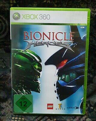 XBOX 360 Spiel Bionicle Heroes ohne Anleitung guter Zustand + OVP