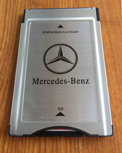 PCMCIA TO SD PC CARD ADAPTER Supoort SDHC for Mercedes-Benz S class US SHIP
