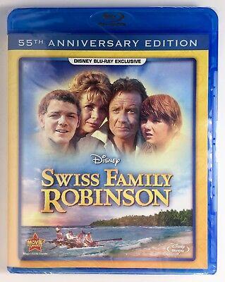Swiss Family Robinson (Blu-ray 55th Anniversary Ed), Disney DMC Exclusive, NEW!!