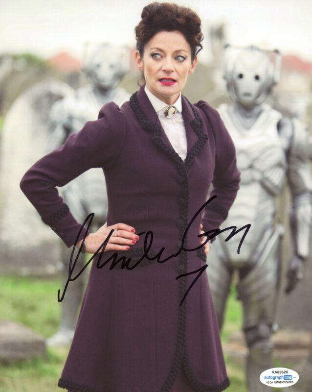 "Michelle Gomez ""Doctor Who"" AUTOGRAPH Signed 8x10 Photo C ACOA"